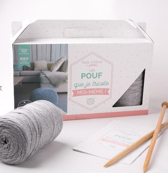 KIT DIY TRICOT ET CROCHET – laine à tricoter